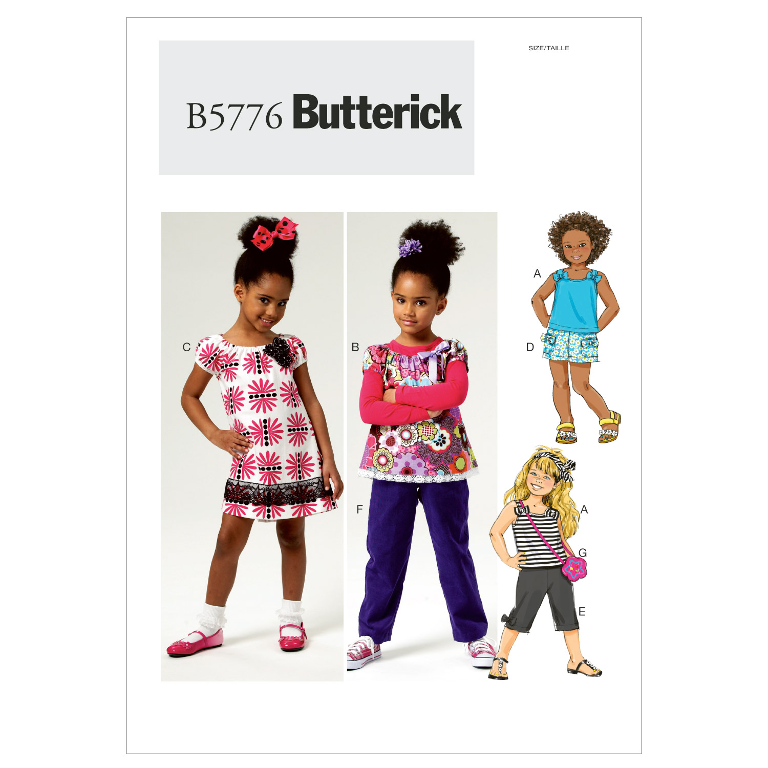 Butterick Child Casual-B5776