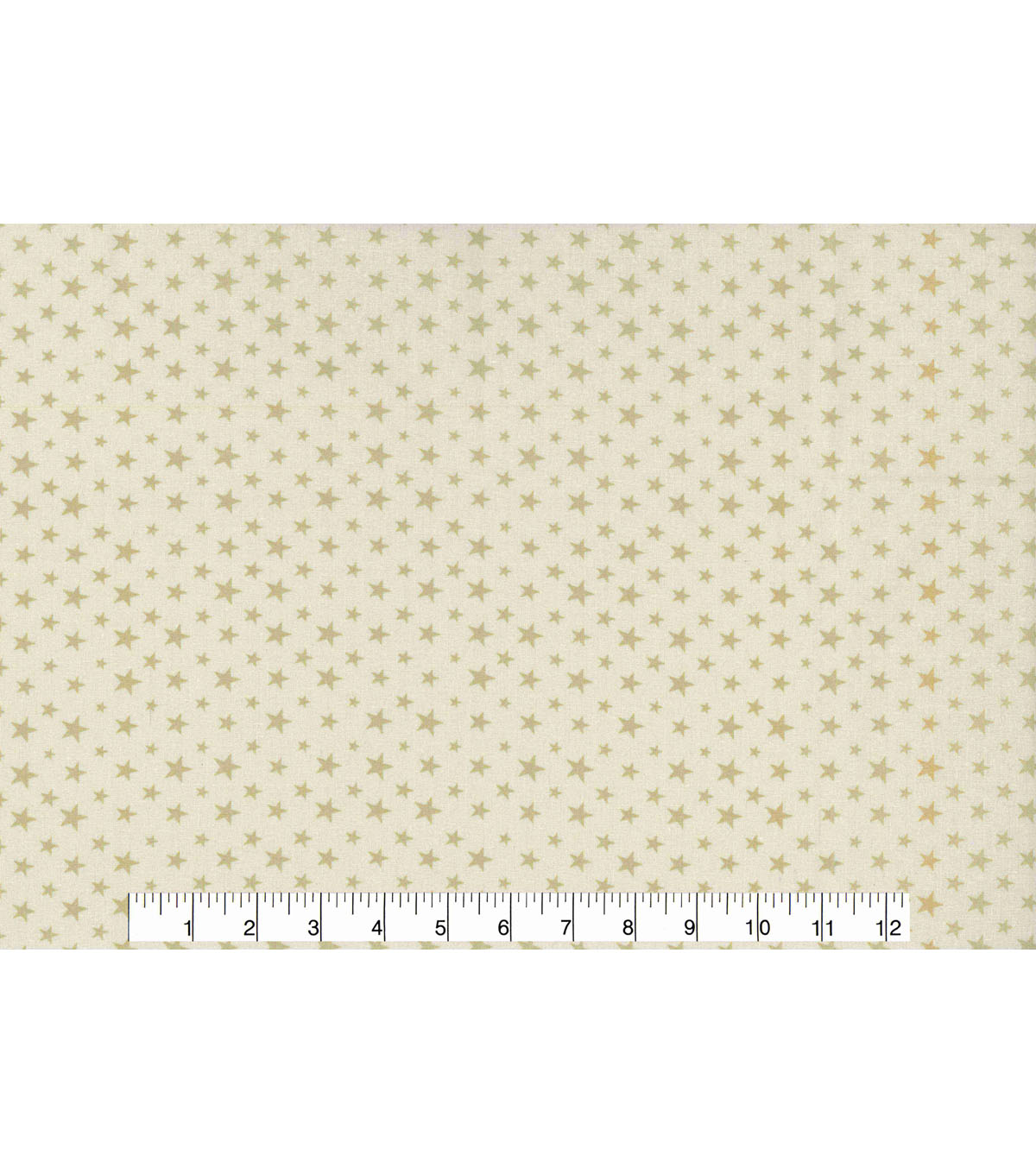 Patriotic Cotton Fabric 43\u0027\u0027-Cream Stars on Beige