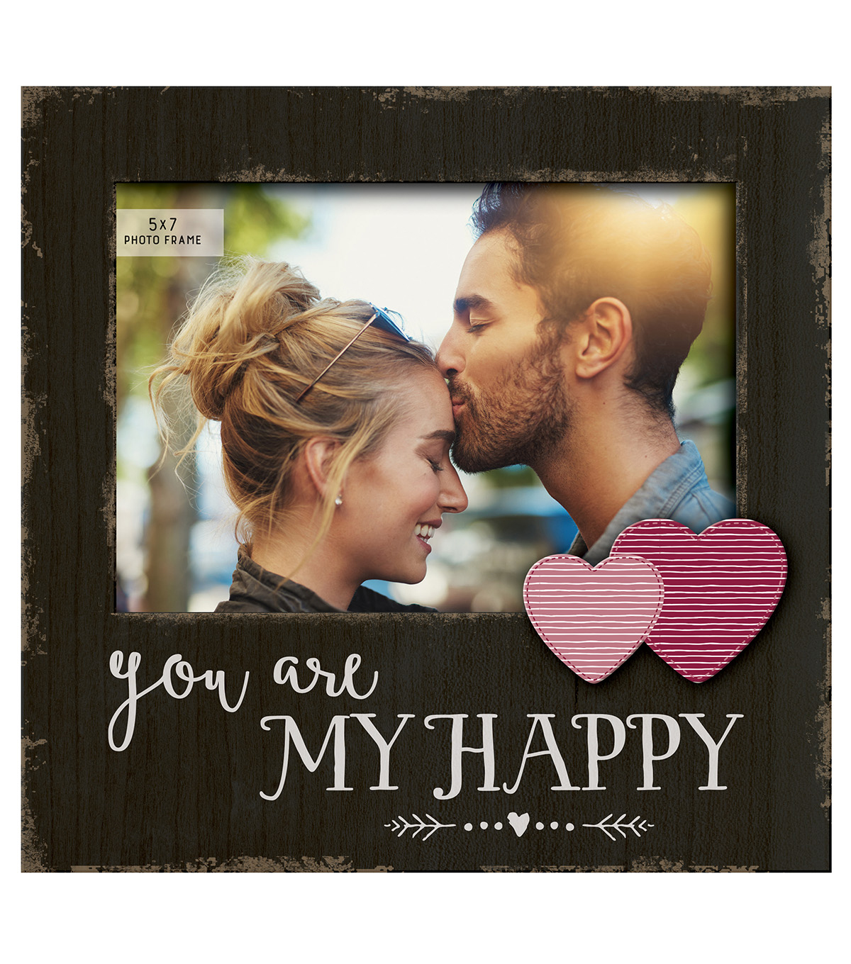 Offset Expression Picture Frame 5x7\u0027\u0027-You Are My Happy