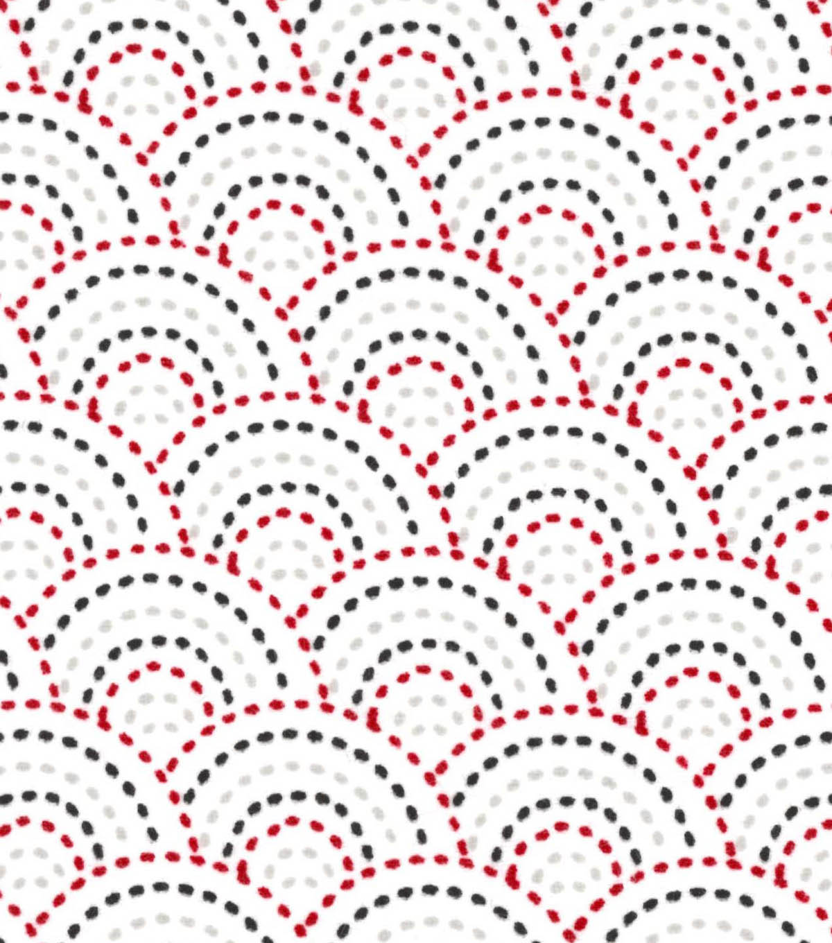Snuggle Flannel Fabric -Dotted Scales