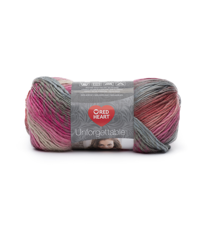 3 Pack Red Heart Unforgettable Yarn-Heirloom