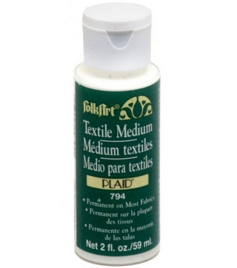 FolkArt Acrylic Textile Medium 2 oz