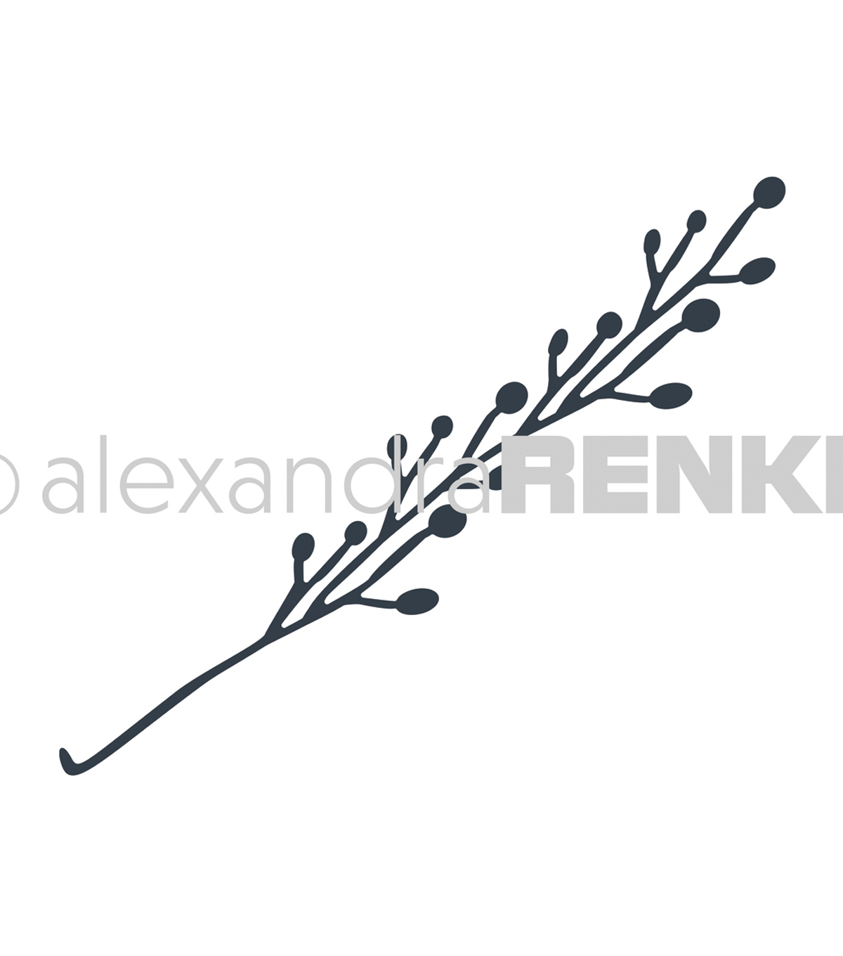 Alexandra Renke Dies-Magic Flowers; Berries