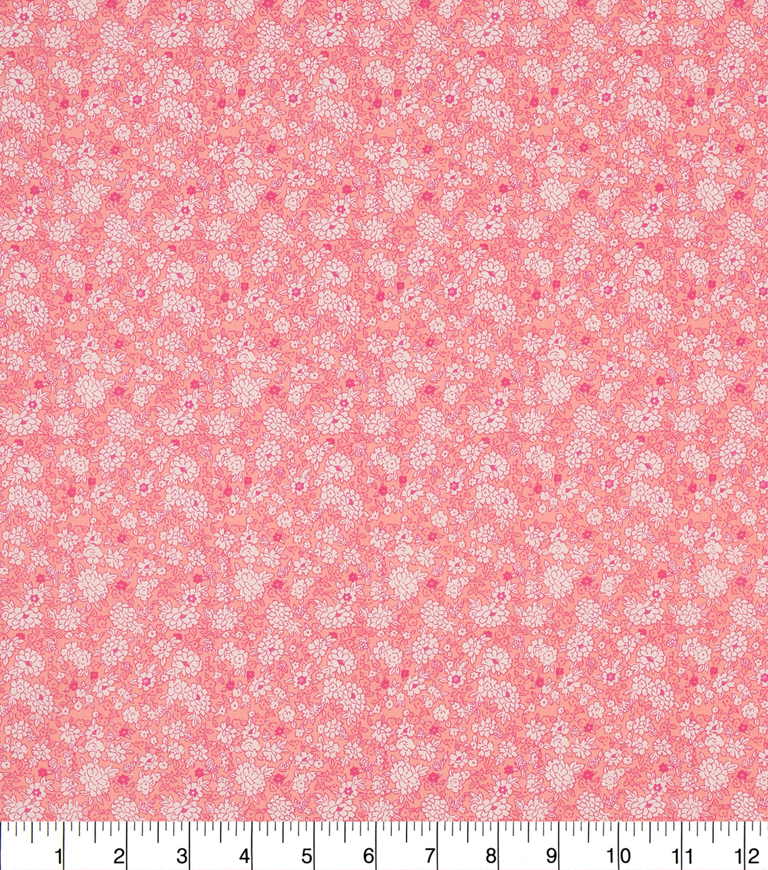 Keepsake Calico Cotton Fabric 43\u0022-Blue Pink Packed Ditsy Floral