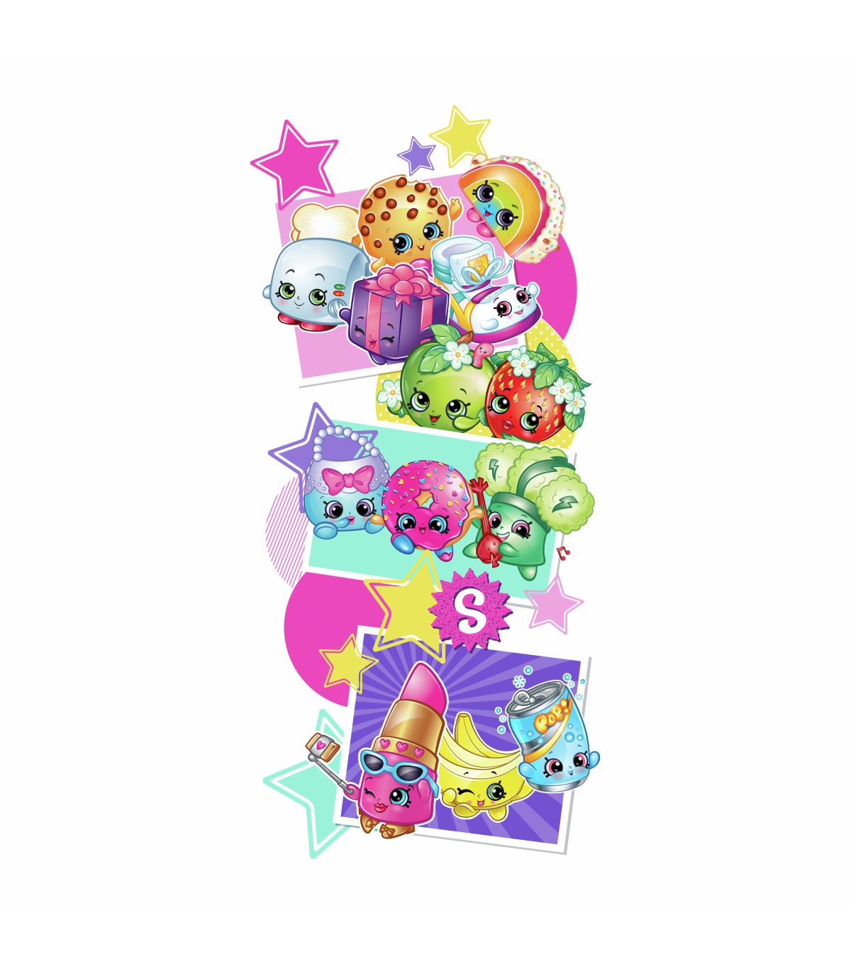 York Wallcoverings Wall Decals-Better Together Shopkins