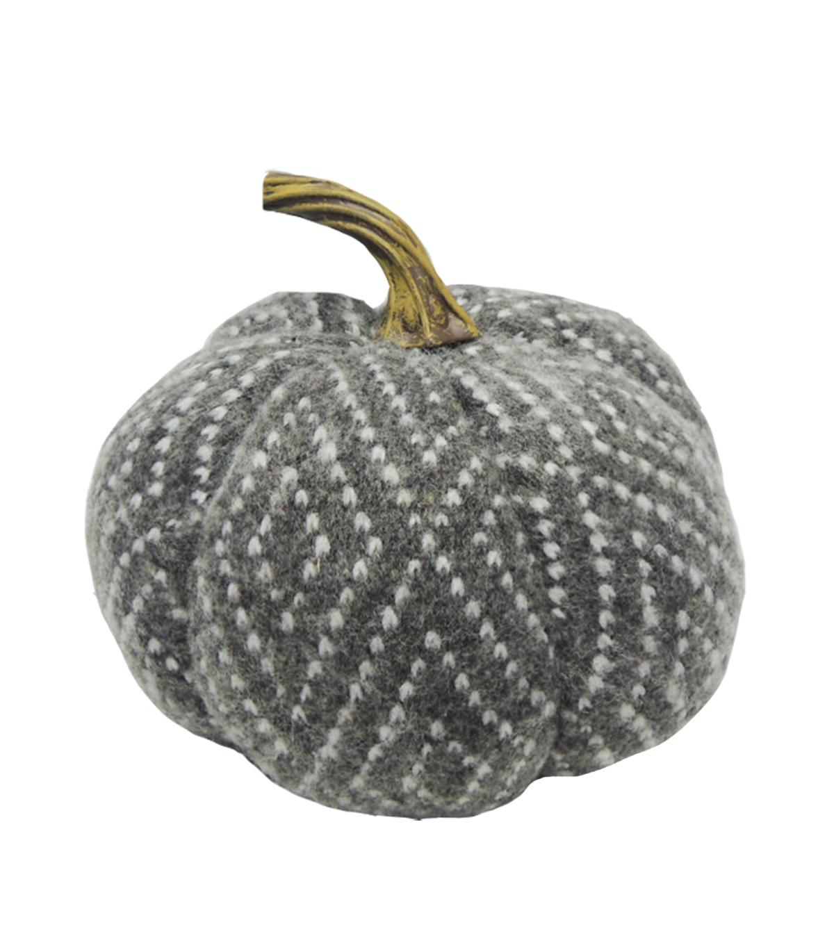Simply Autumn Medium Pumpkin-Diamonds on Gray