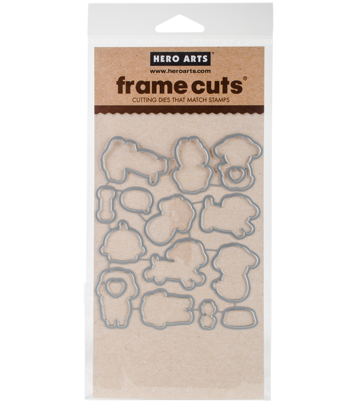 Hero Arts Frame Cut Dies-Woof