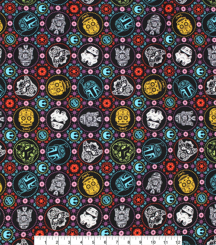 Star Wars Cotton Fabric -Sugar Skulls | JOANN