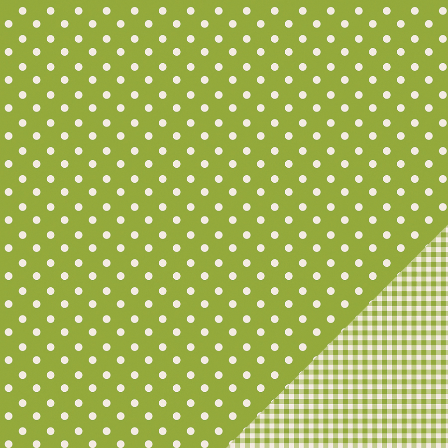 Pebbles Basics Dot Double-Sided Cardstock 12\u0022x12\u0022