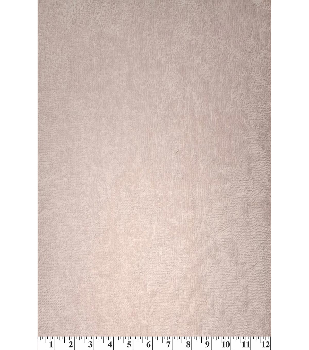 Cotton Terry Cloth Fabric-Solids, Light Pink