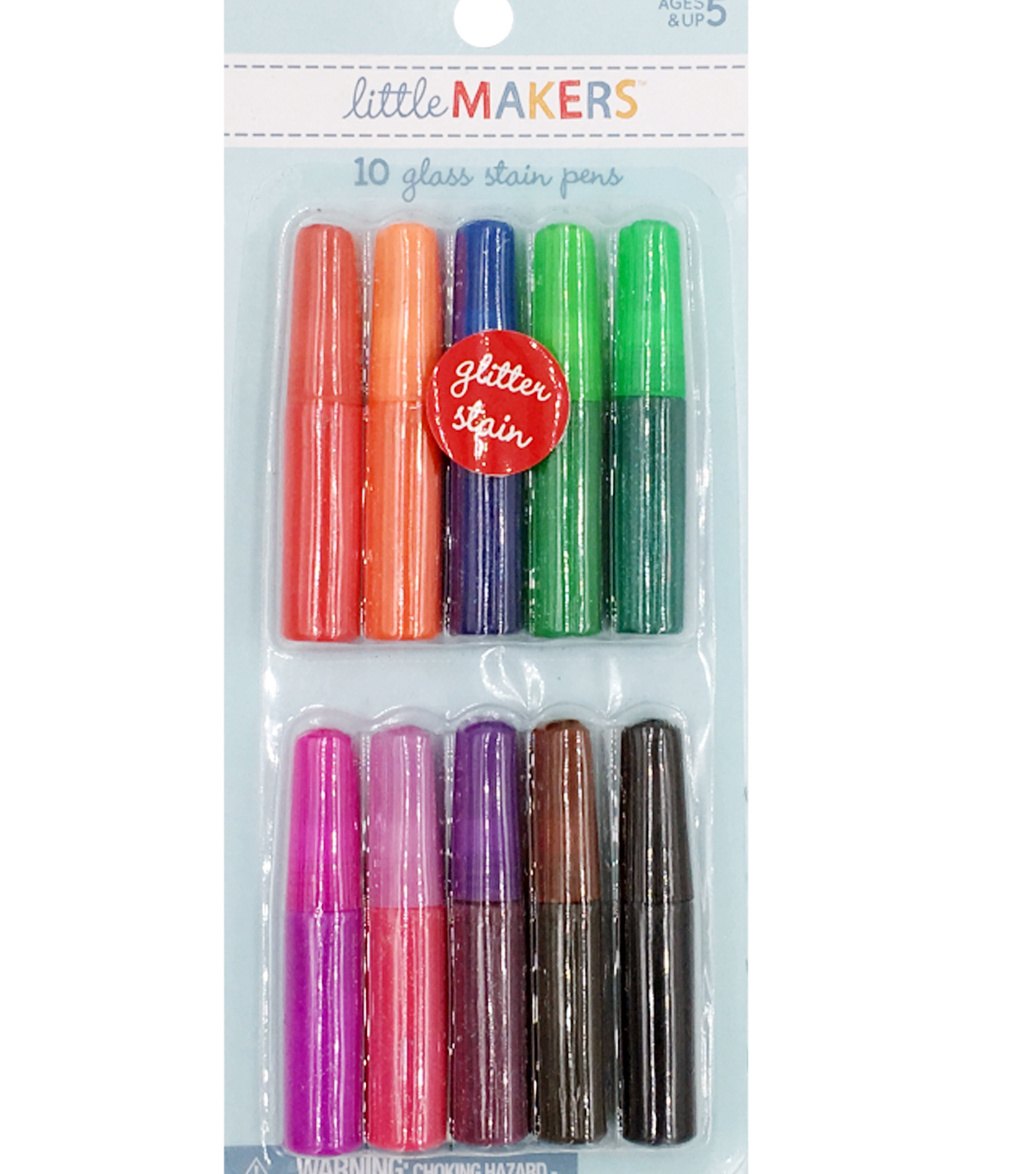 Little Makers 10pc Glass Stain Pens