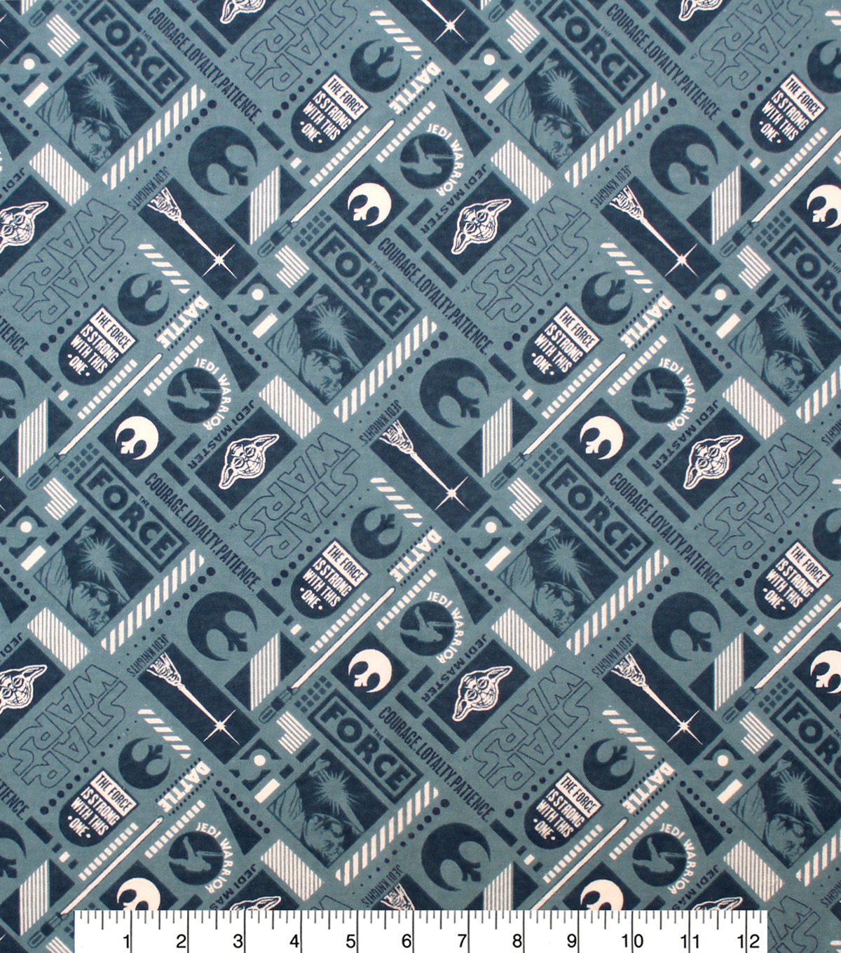 Star Wars Flannel Fabric 42\u0022-Rebel Gear