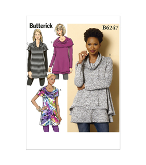 Butterick Misses Top-B6247