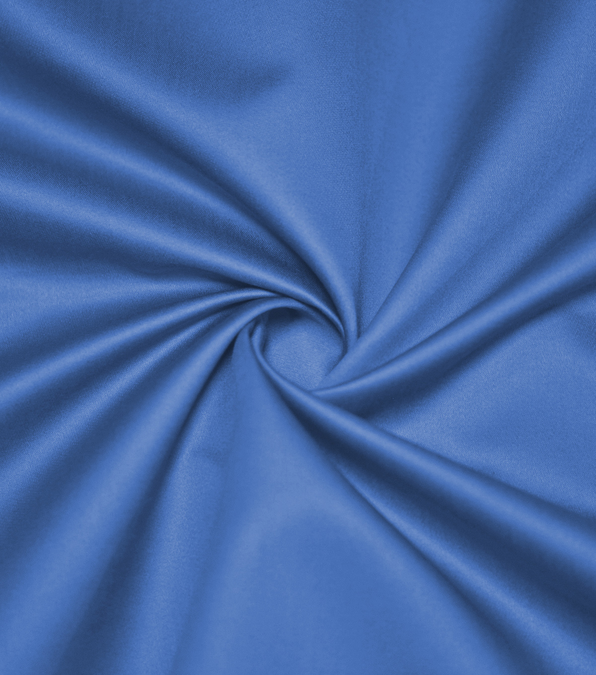 Supima Sateen Cotton Fabric-Solids, Blue