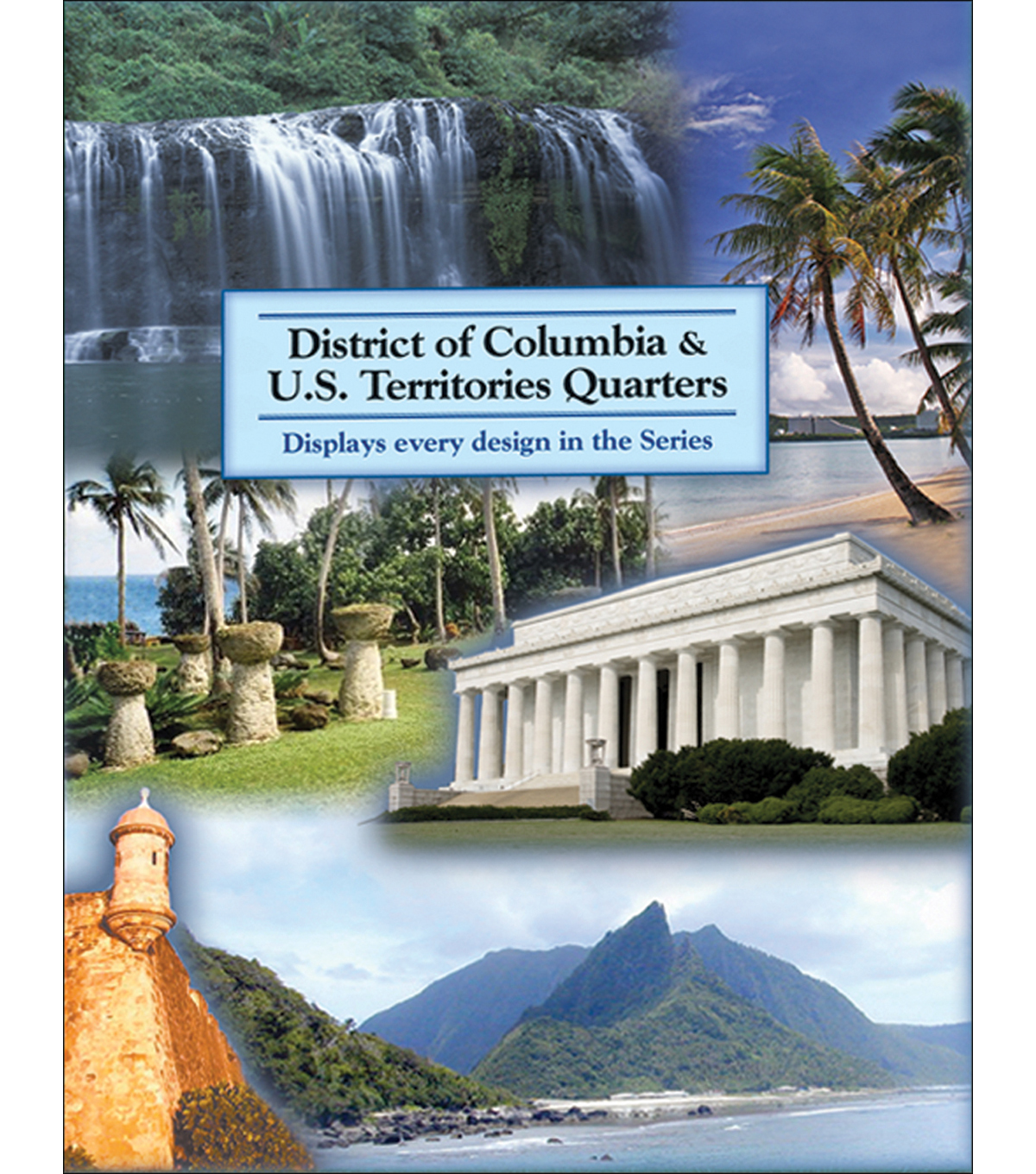 Llittleton U.S. Territory & D.C. Quarter Color Folder-2009