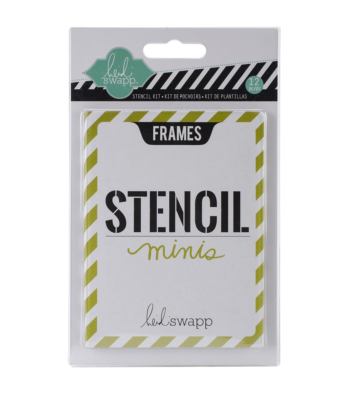 Heidi Swapp Mini Frames Stencil Kit