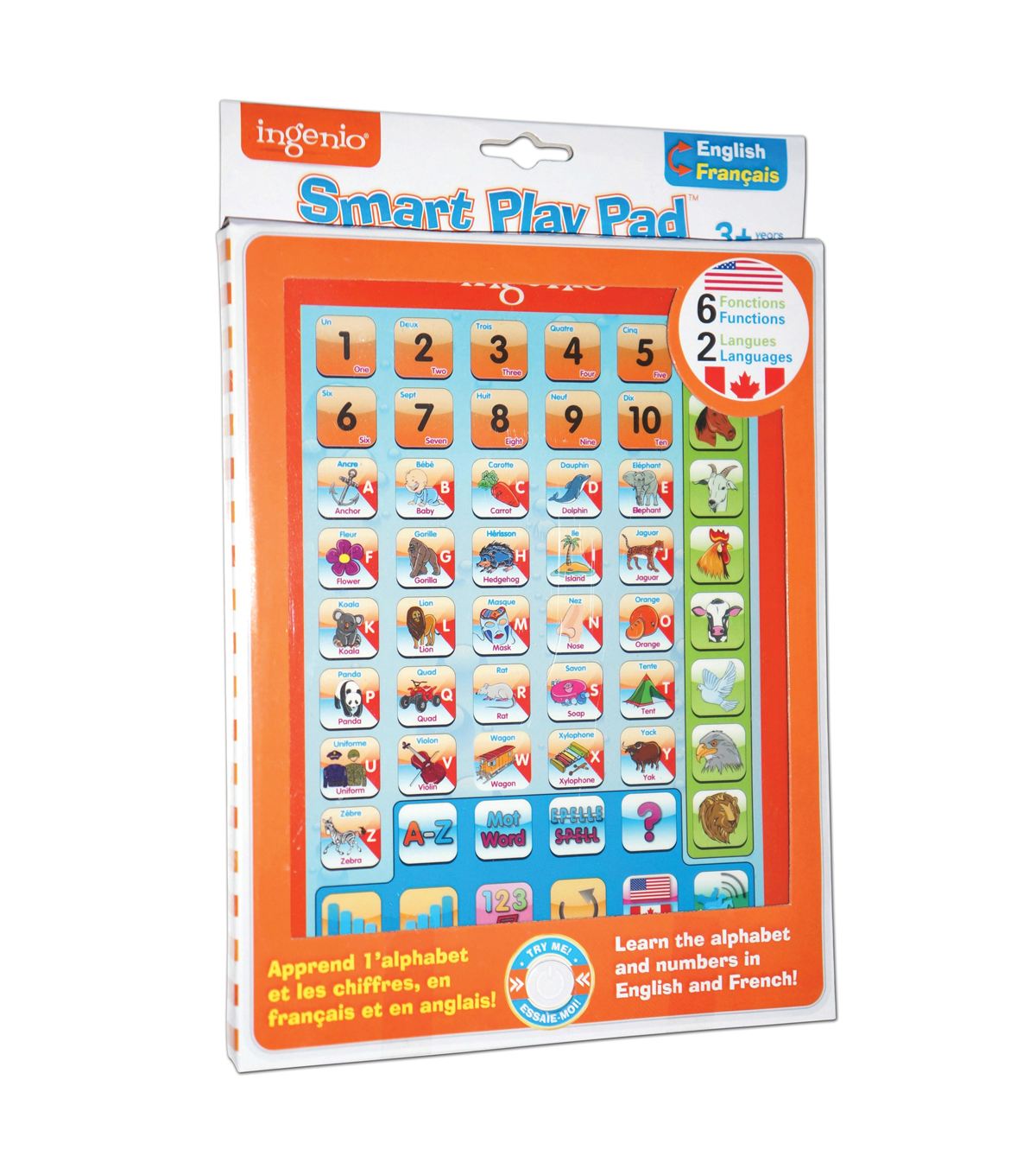 Smart Play Pad, English/French