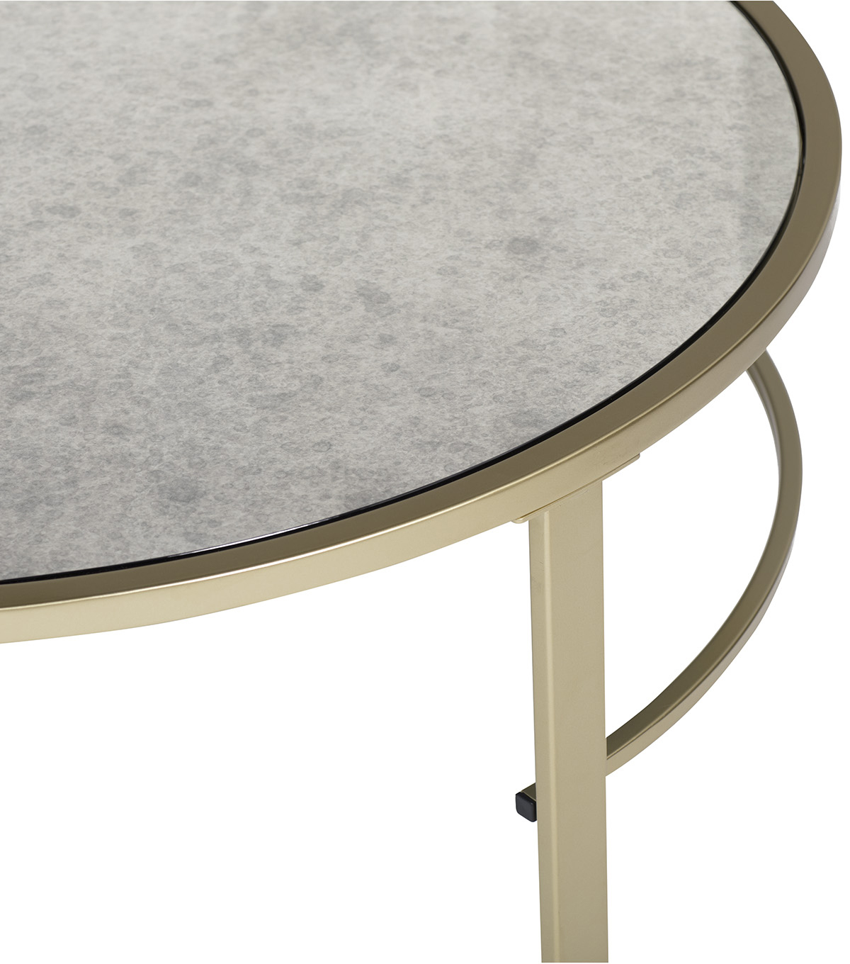 Studio Designs Corbel Modern Nesting Coffee Tables Mirror