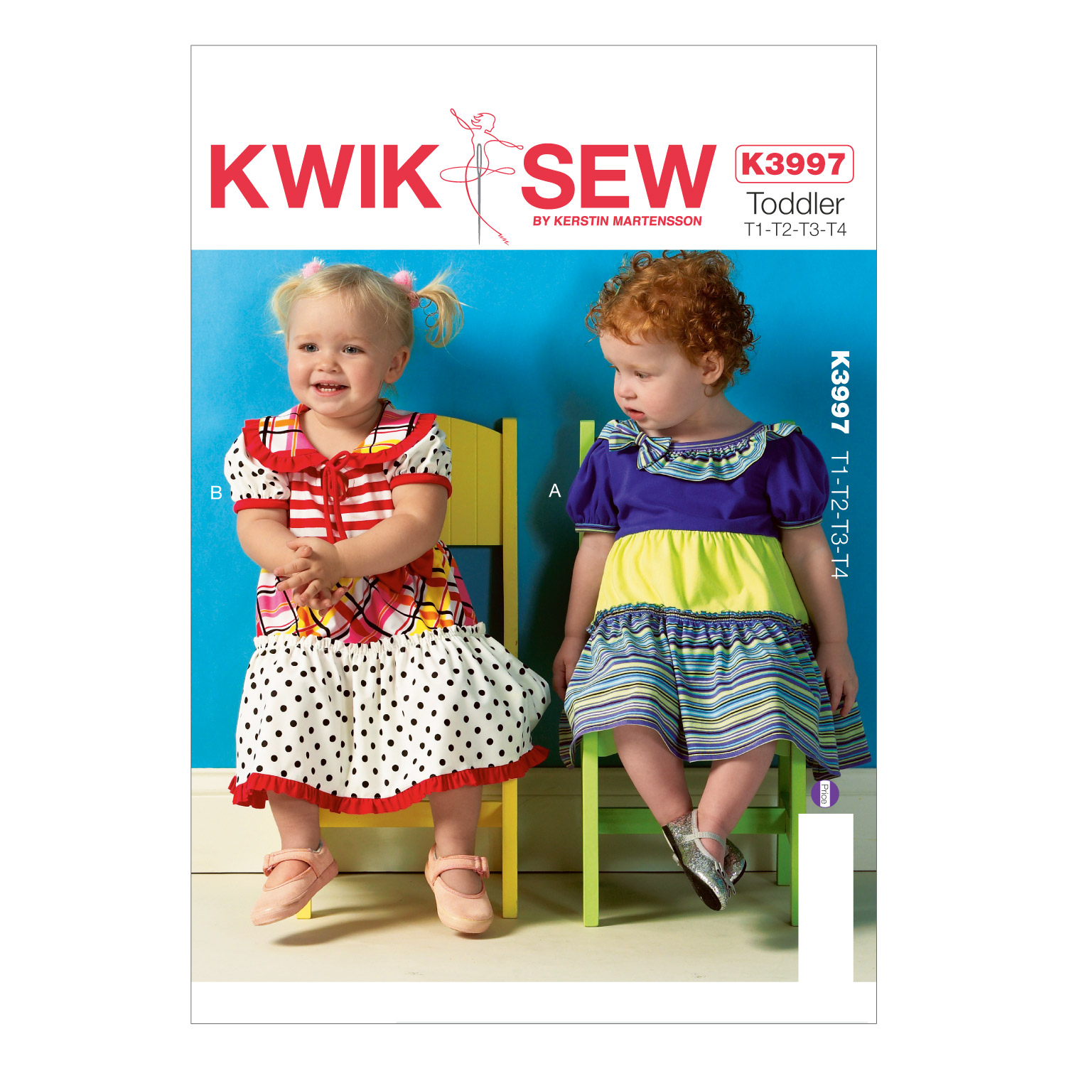 Mccall Pattern K3997 All Sizes -Kwik Sew Pattern