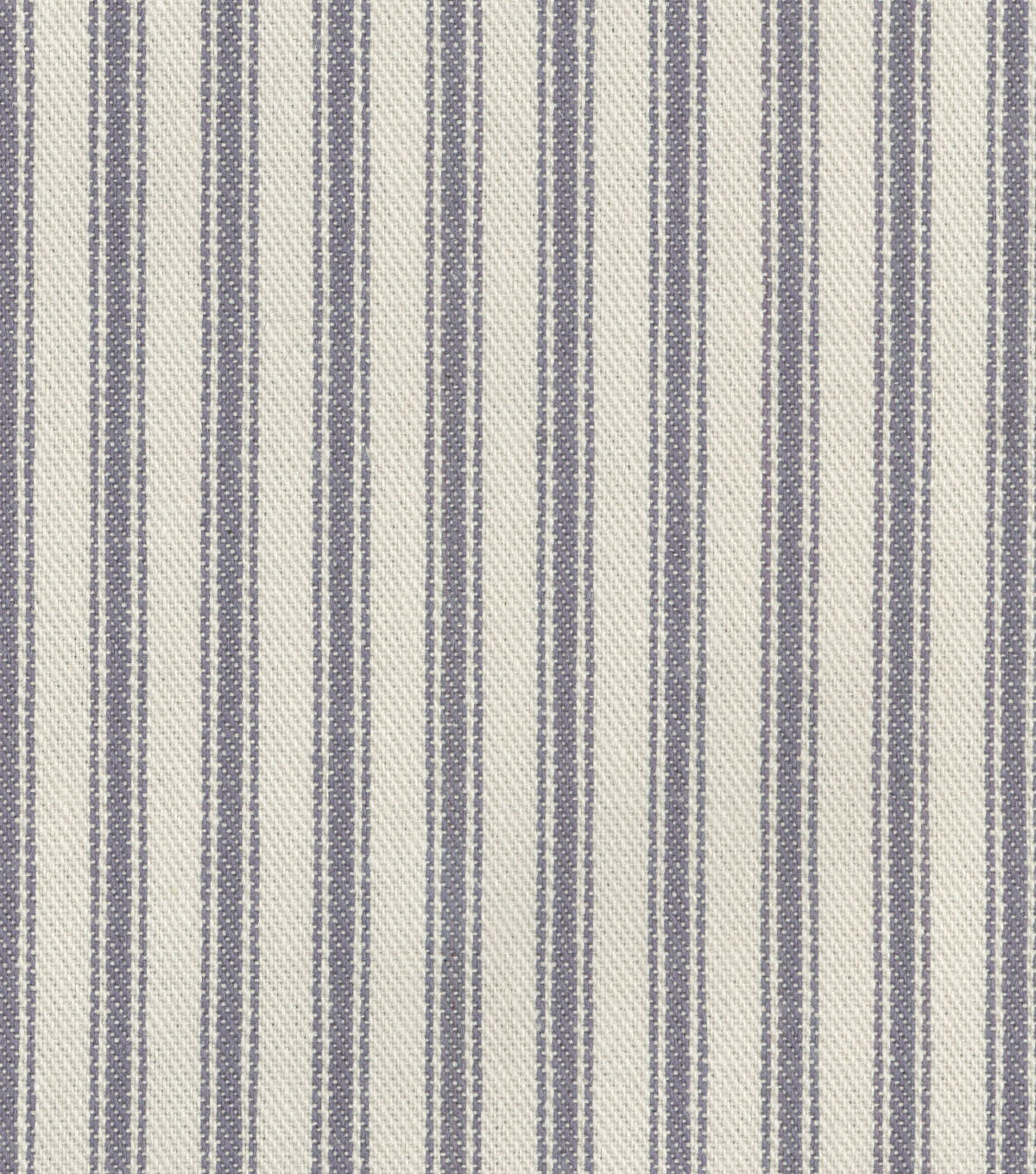 Waverly Upholstery Fabric 13x13\u0022 Swatch-Classic Ticking Graphite