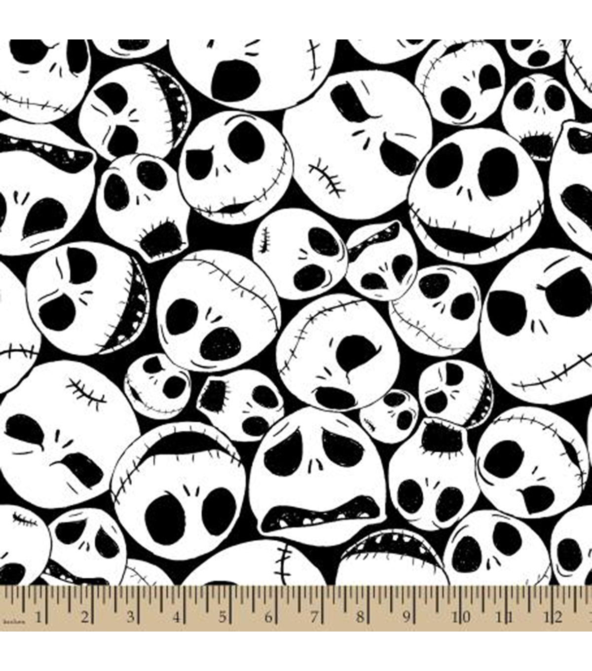 Nightmare Before Christmas Halloween Fleece Fabric 59\