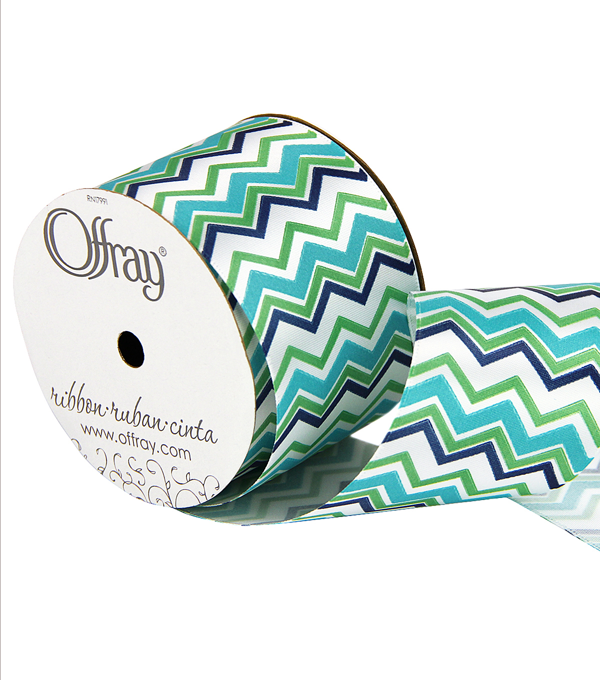 2 And One Qtr Island Blues Chevron 2 Ribbon