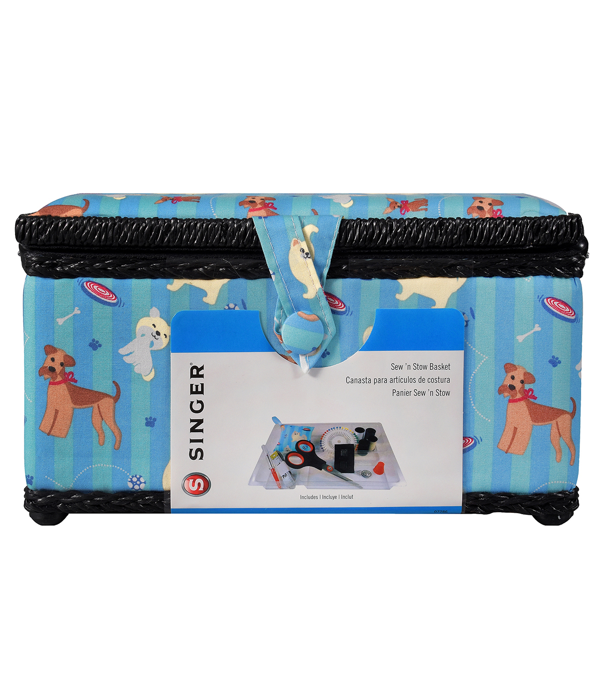 Singer Sewing Basket-Fetch Print