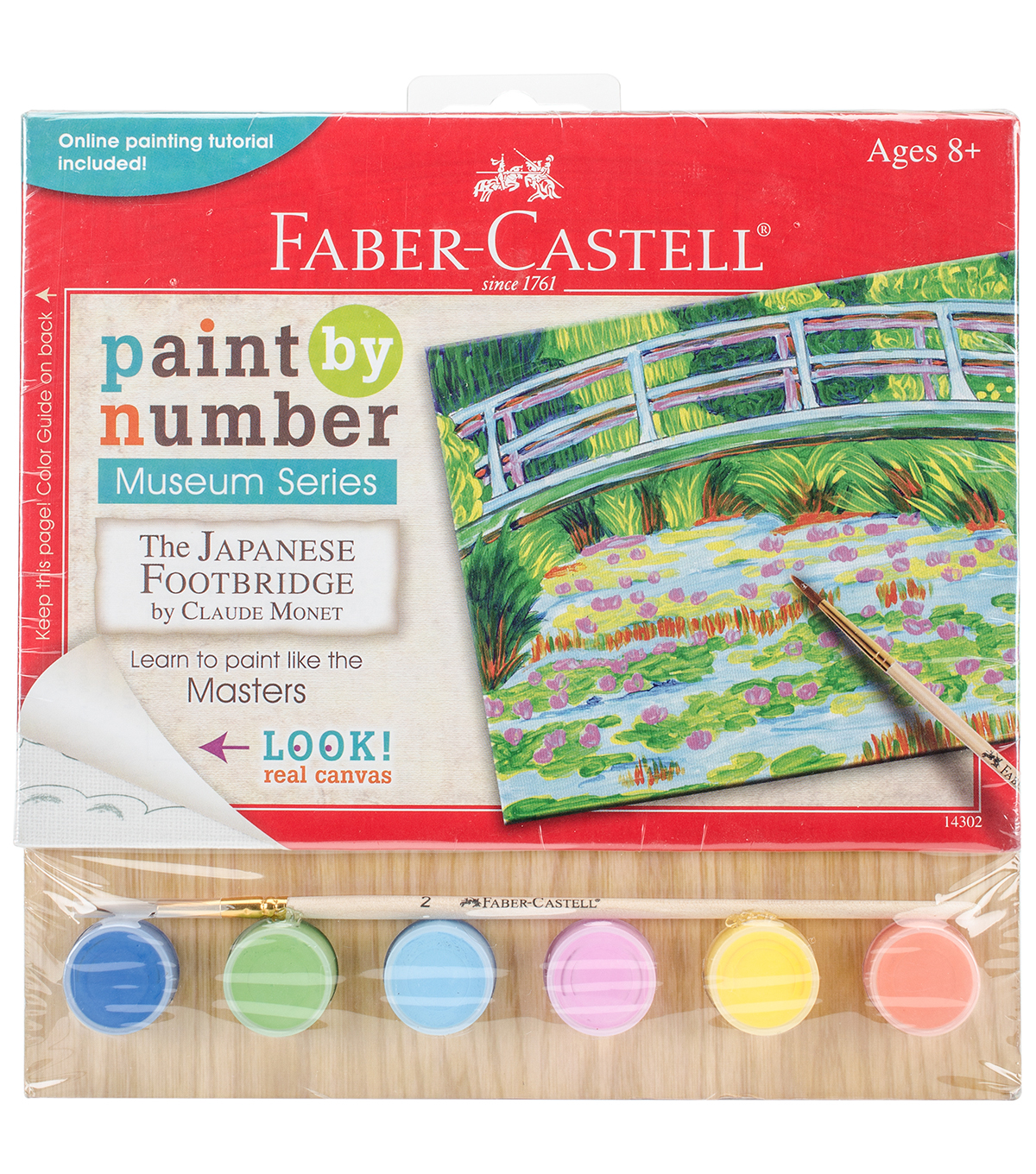 Faber-Castell Museum Series Paint By Number-Japanese Footbridge
