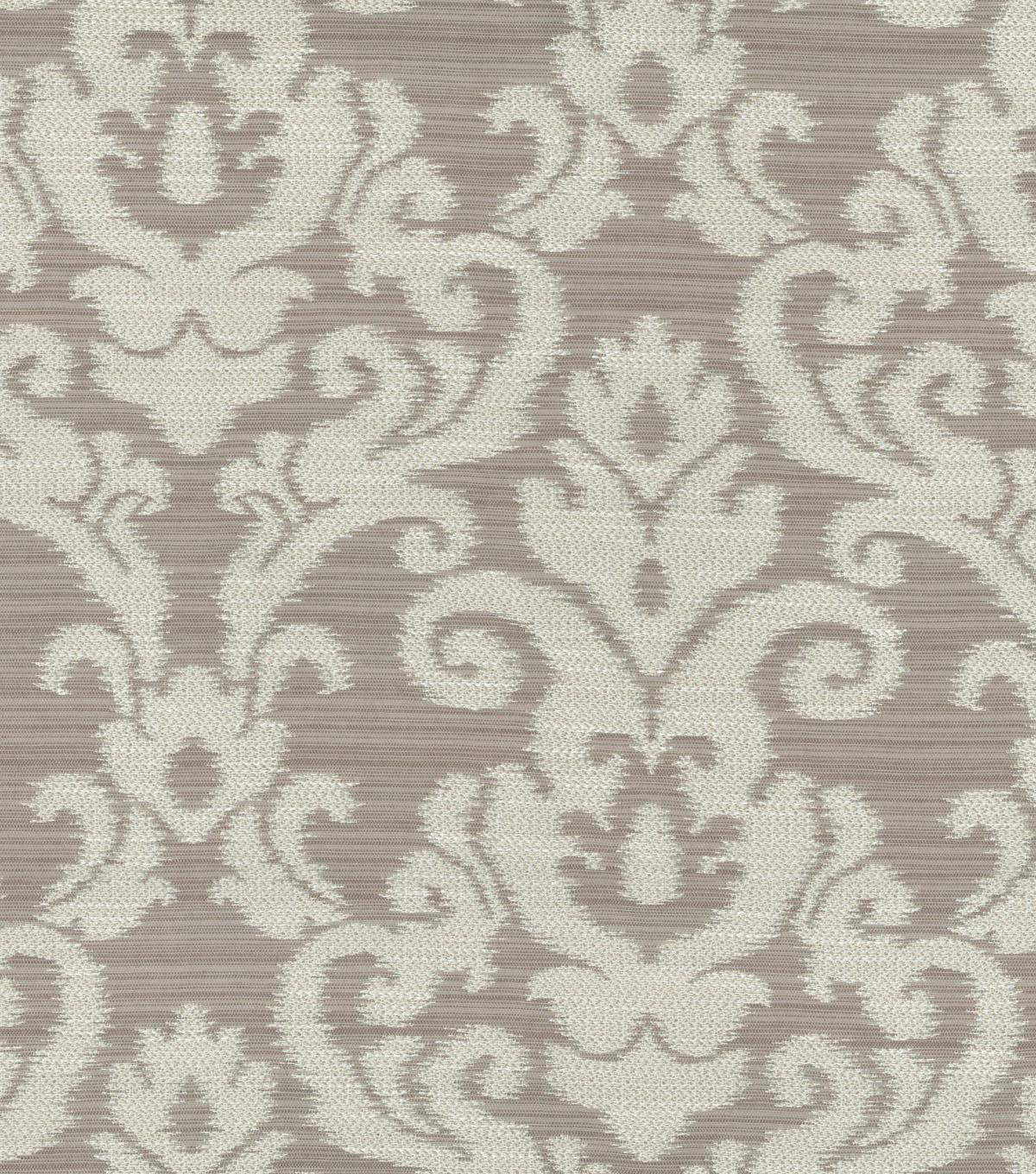 Home Decor 8\u0022x8\u0022 Swatch Fabric-Waverly Kenwood Damask Flint