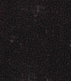 Vintage Cotton Fabric 43\u0022-Leaf Crosshatch Black