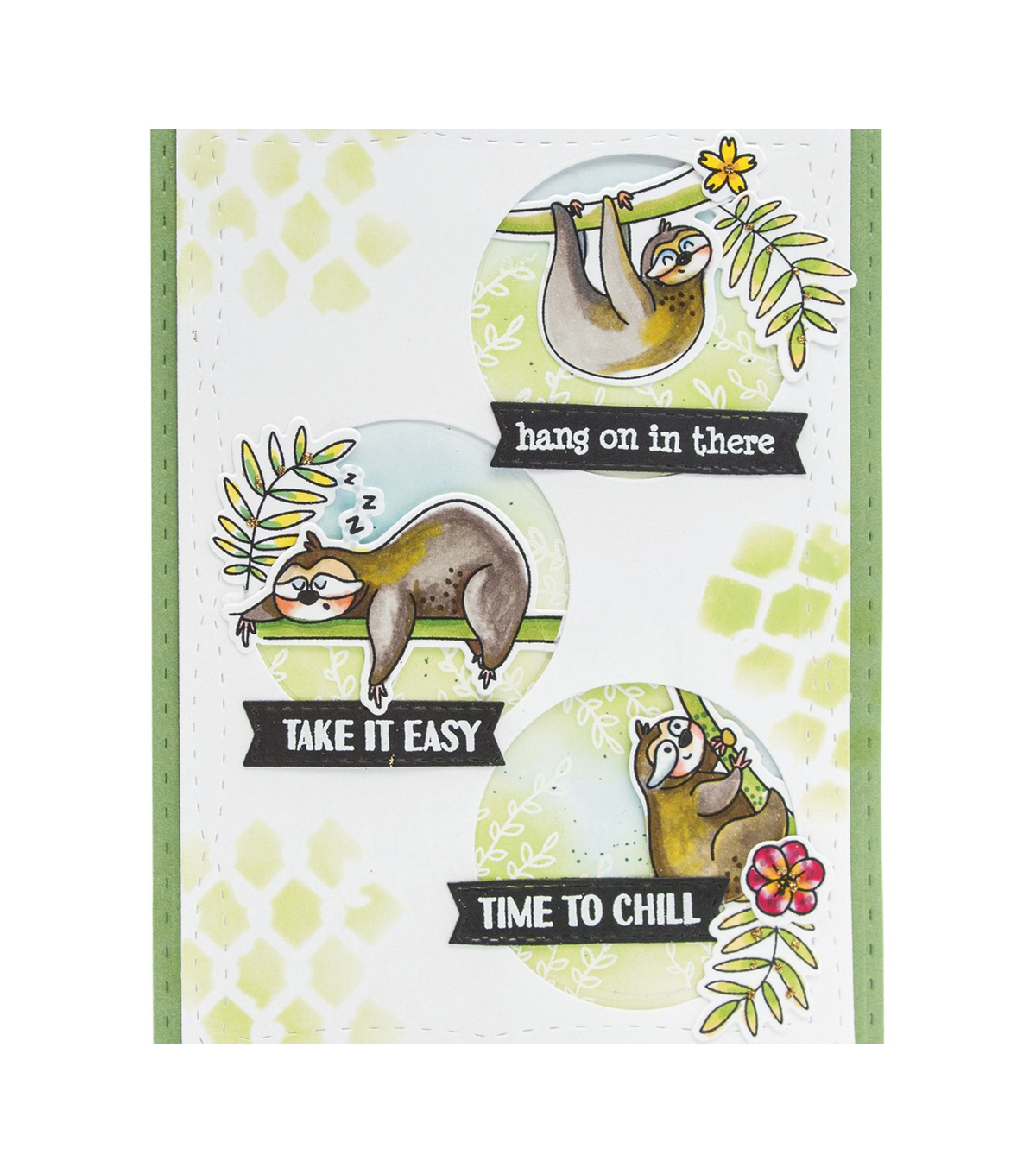 Tonic Studios Clear Stamps-Sammy Takes It Easy