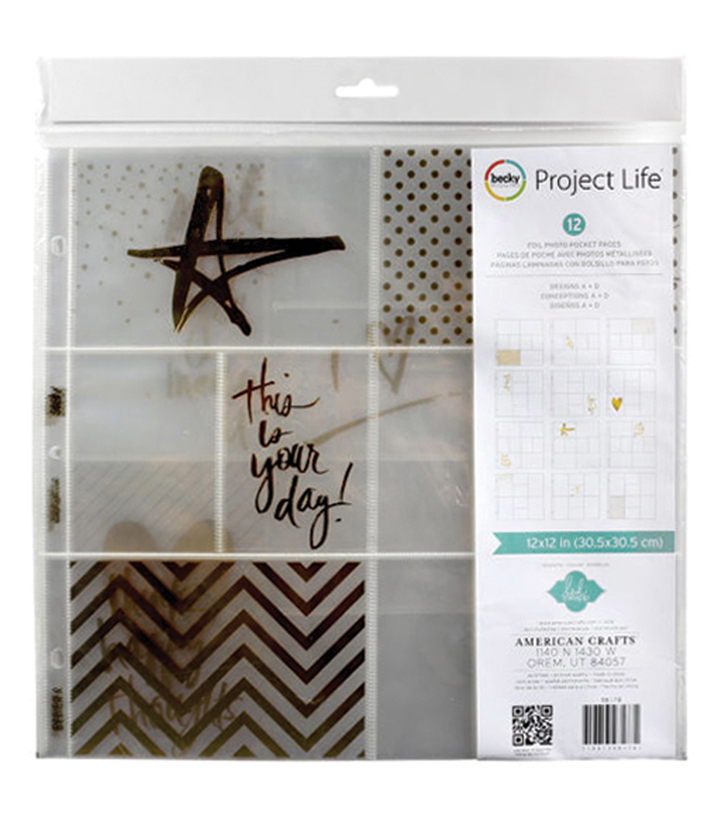 Project Life Heidi Swapp Photo Pocket Pages