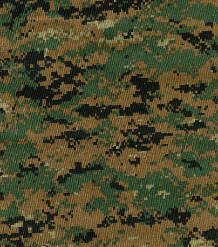 famous brand new cheap big sale Digital Woodland Shirting Fabric -Camouflage