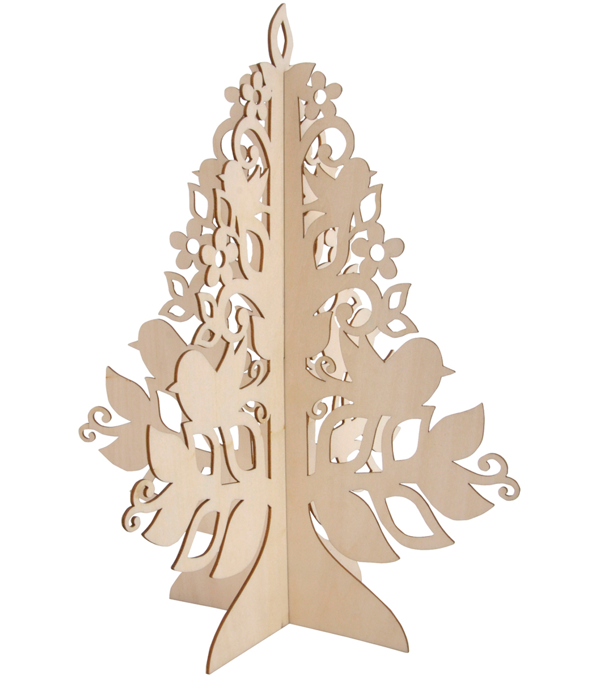 Kaisercraft 3-D Wood Flourishes-Tree