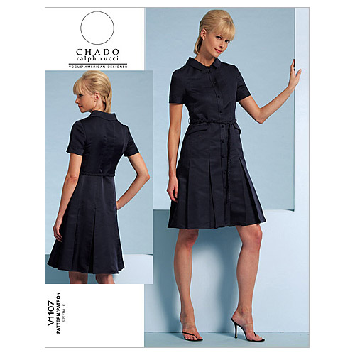 Mccall Pattern V1107 Aa (6-8-10-Vogue Pattern