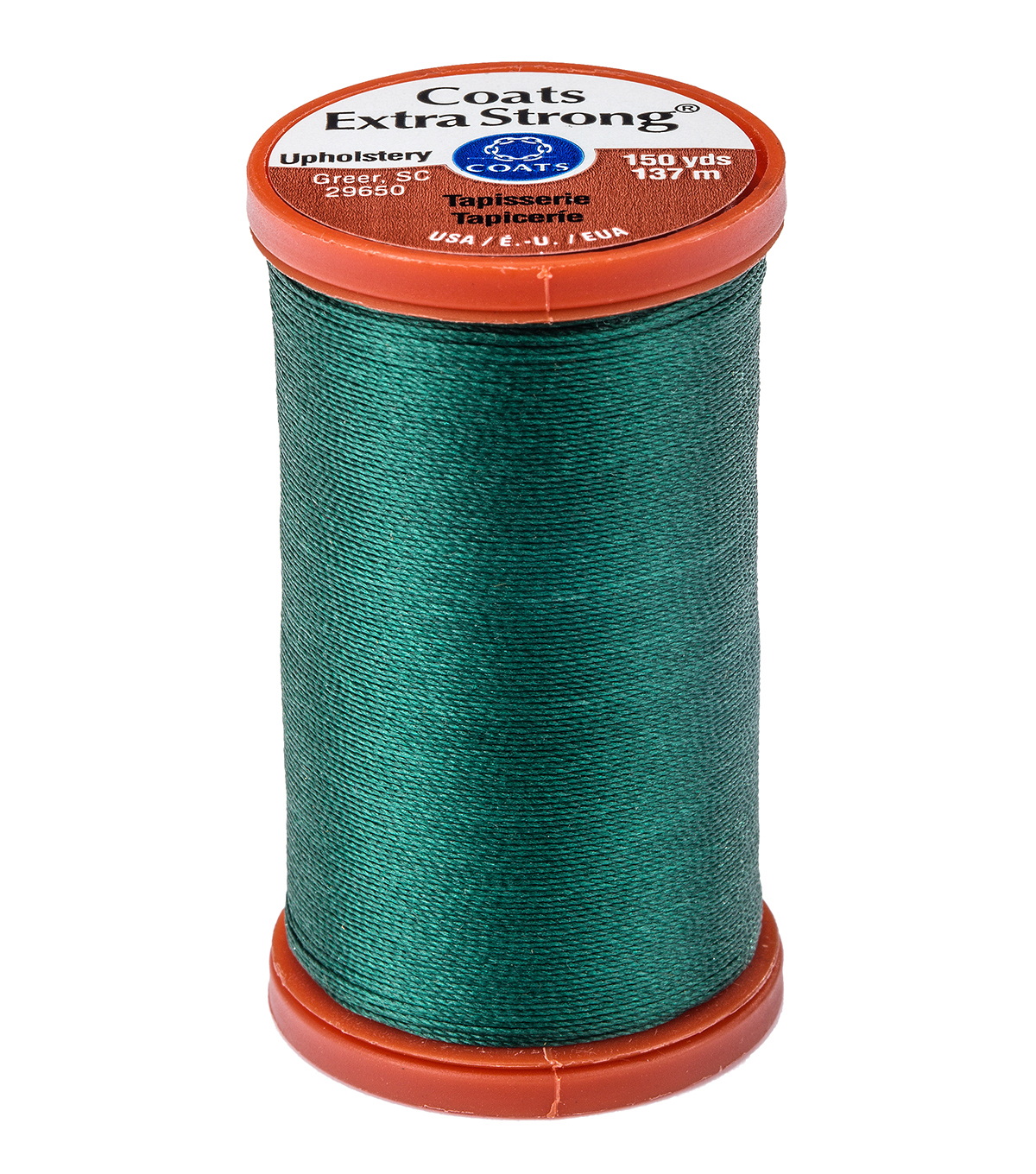 Coats & Clark Extra Strong & Upholstery Thread 150 yd , Hunter Green
