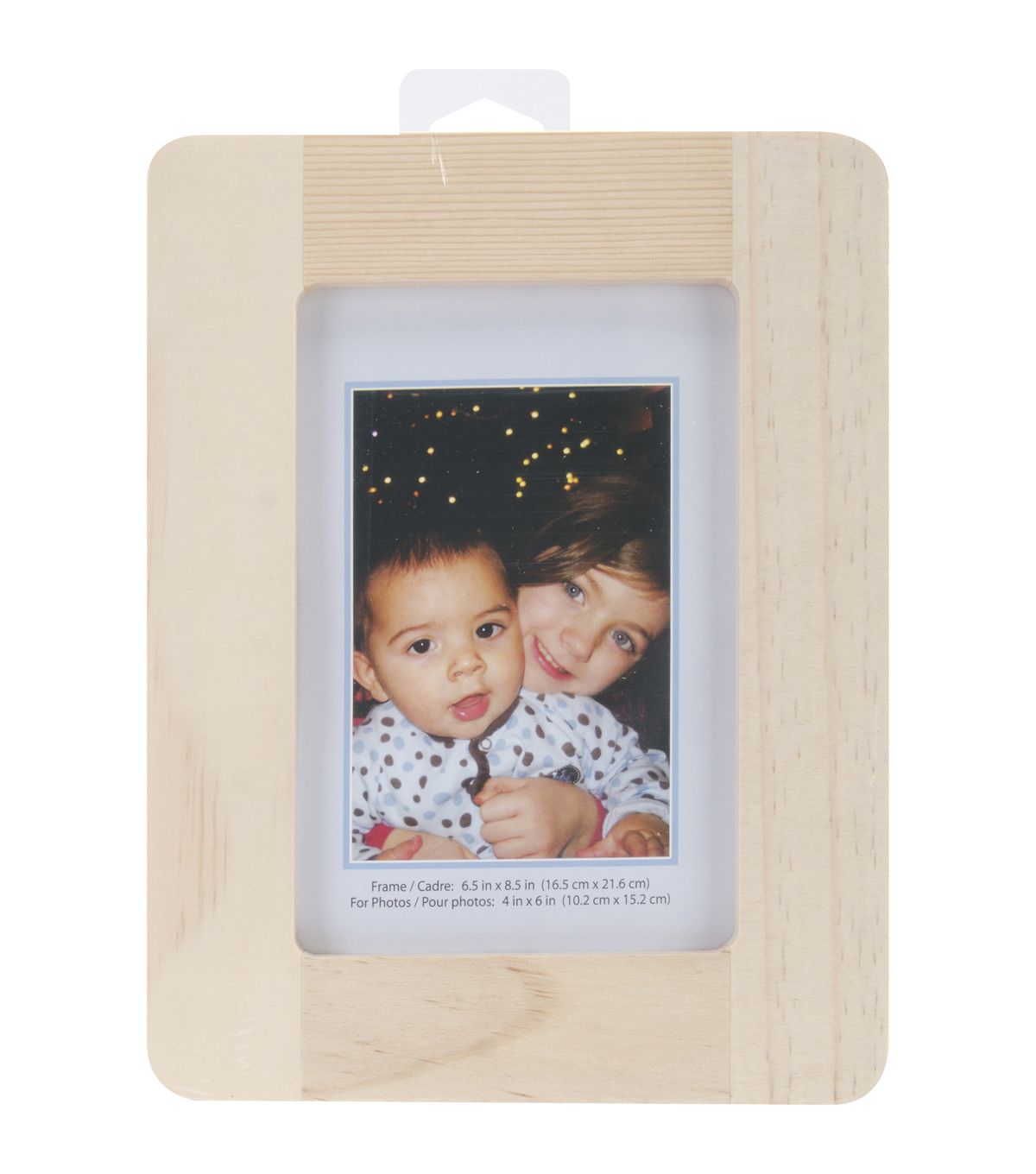 Natural Pine Photo Frame 65x85 Joann