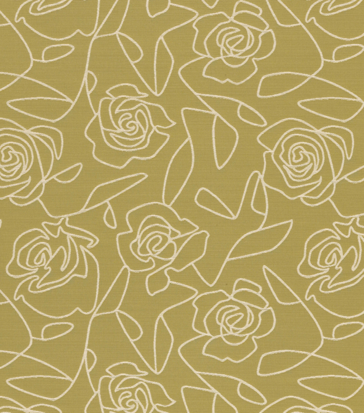 Crypton Upholstery Fabric 54\u0022-Bed Of Roses-Green