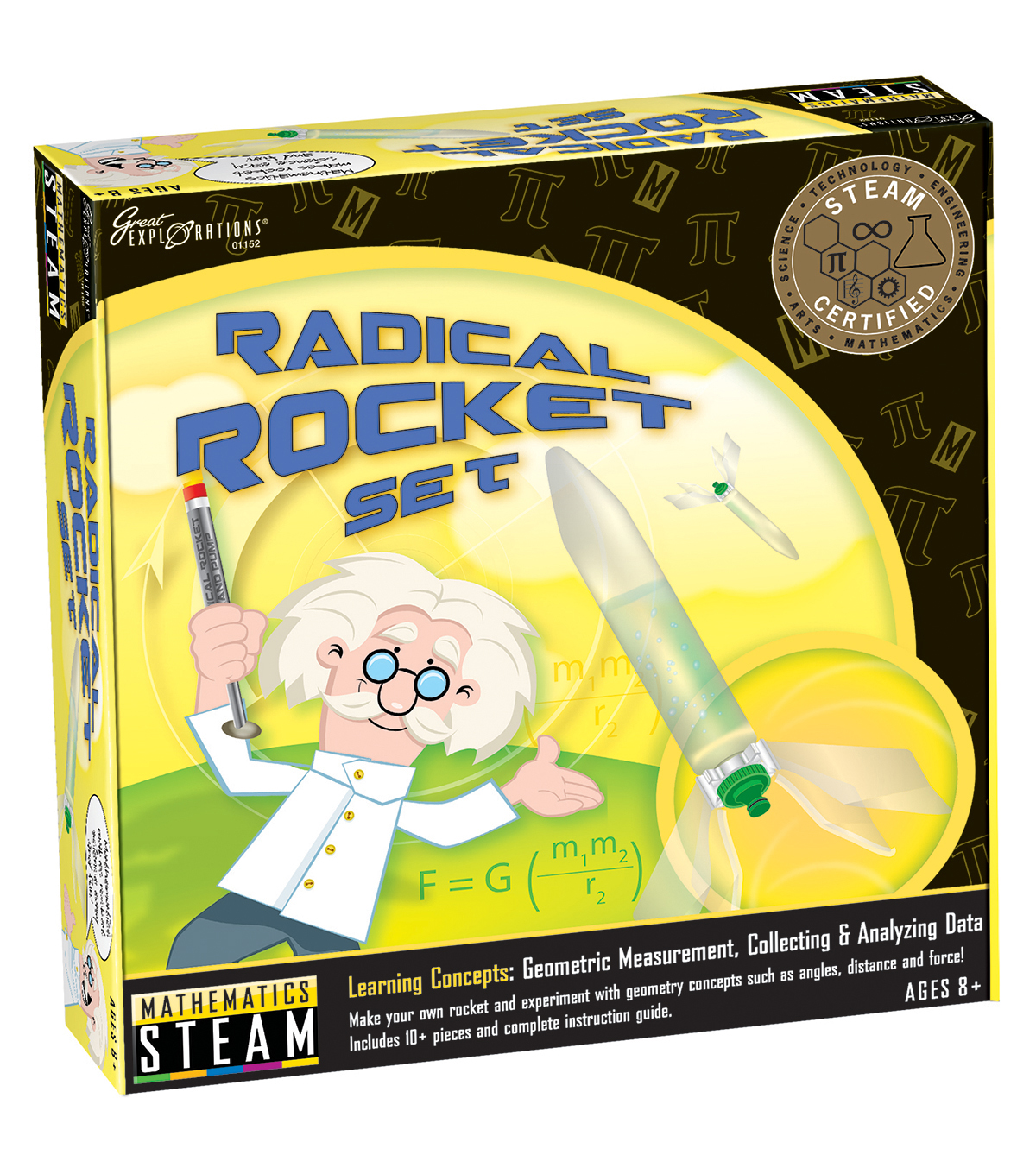 University Games Radical Rocket Steam Science Kit