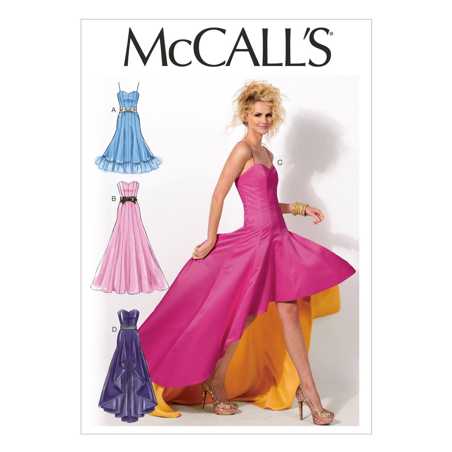 McCall\u0027s Misses Special Occasion-M6701