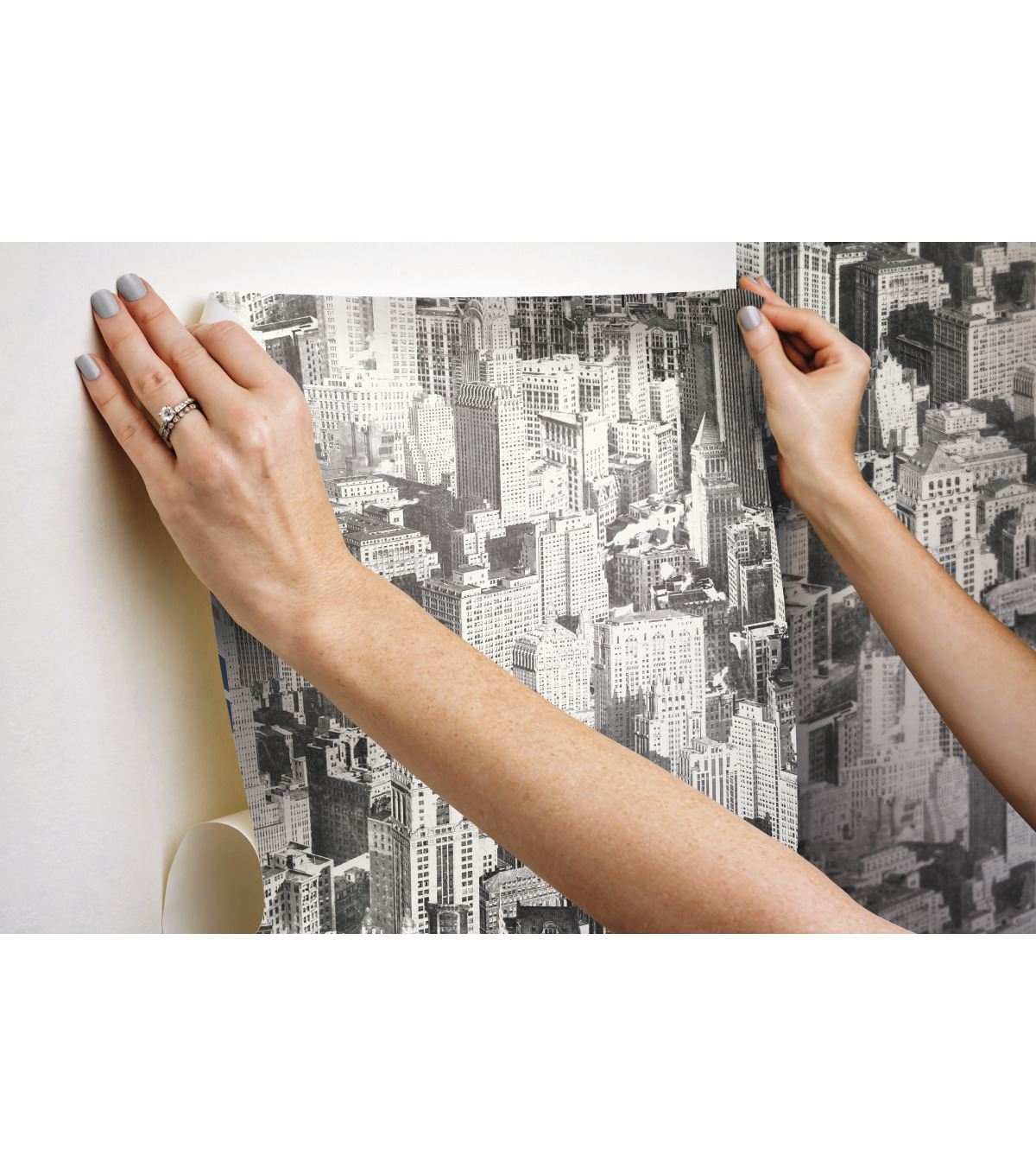 York Wallcoverings Wallpaper-Big Apple Peel