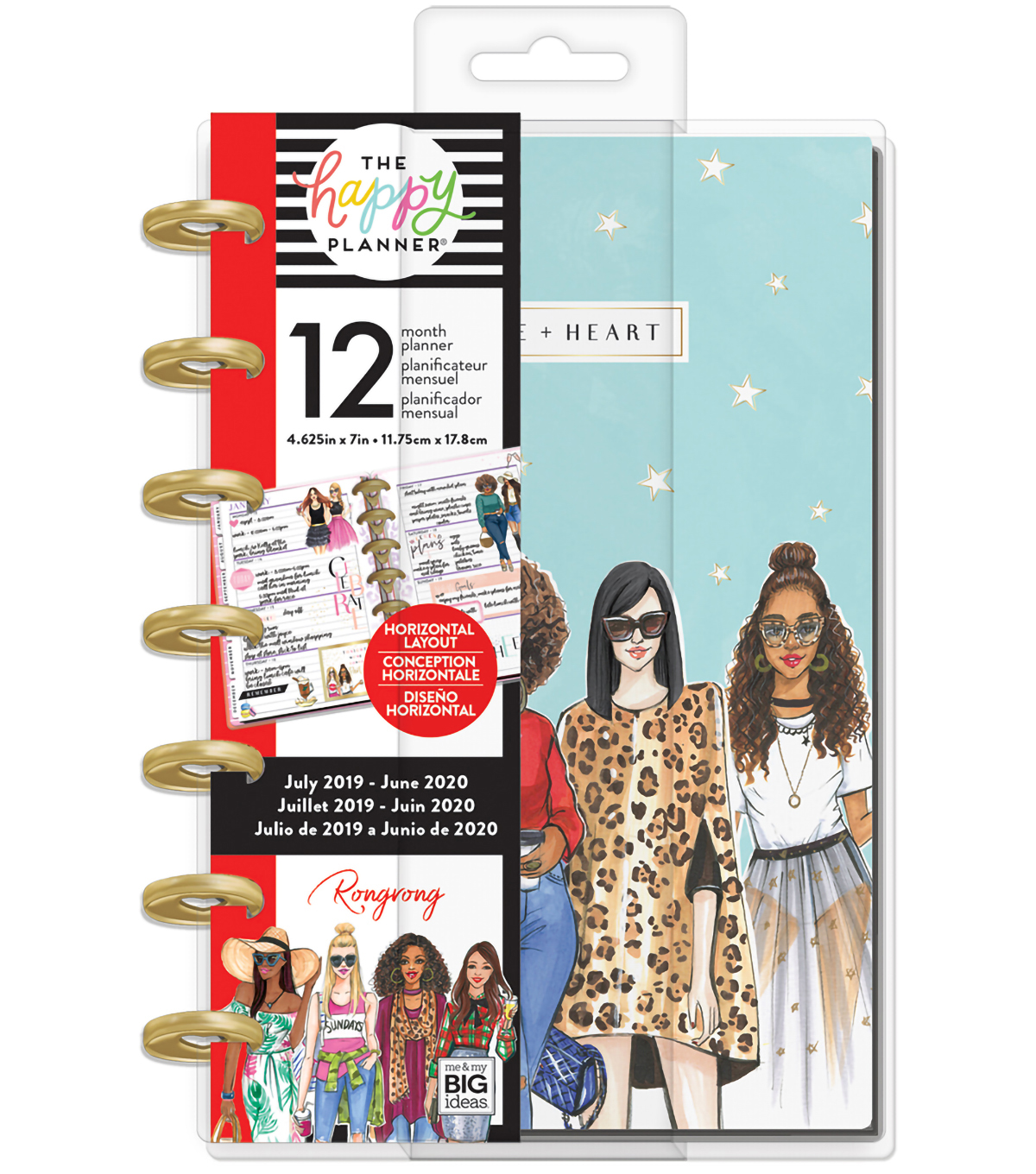 Gift Ideas 16 Year Old Brother Hanukkah 2020 Mini Happy Planner x Rongrong Hustle & Heart 12 Months (2019 2020