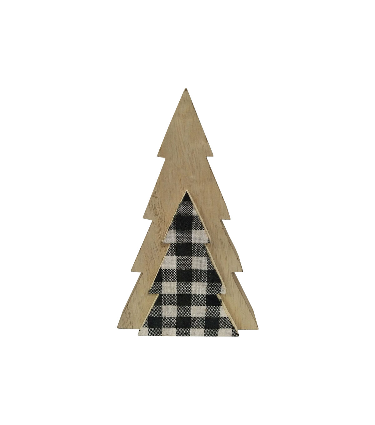 Maker\u0027s Holiday Christmas 6.6\u0027\u0027 3D Tree-Plaid