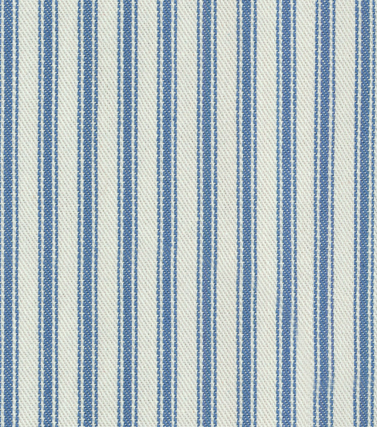 Waverly Multi-Purpose Decor Fabric 55\u0022-Classic Ticking Denim