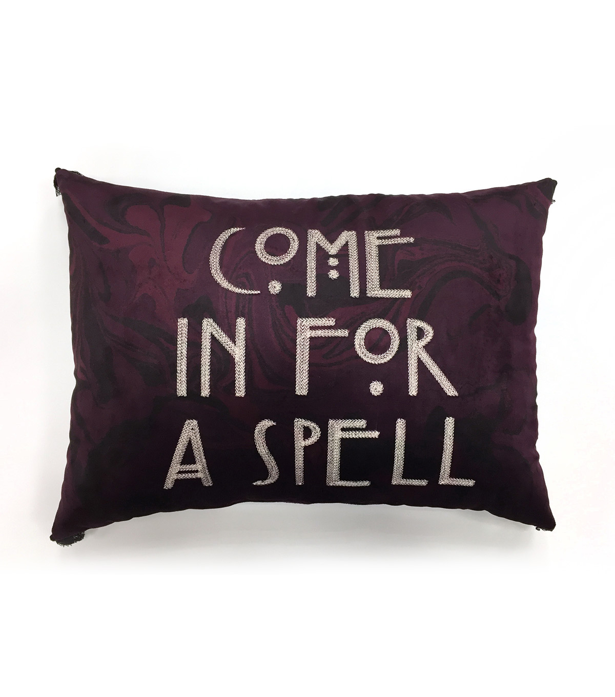 Maker\u0027s Halloween 13\u0027\u0027x18\u0027\u0027 Pillow-Come in for a Spell