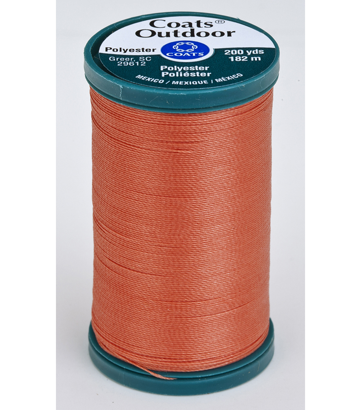 Coats & Clark Outdoor 200yd Thread, Coats Outdoor 200yd Coral