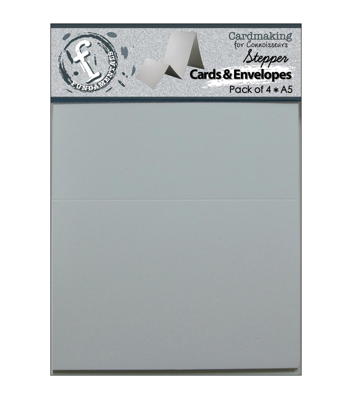 stepper cards envelopes 8 5 x5 5 4 pkg white joann