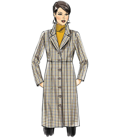 Butterick Pattern B6430 Misses\u0027/Women\u0027s Empire-Waist Coat-Size XXL-6X