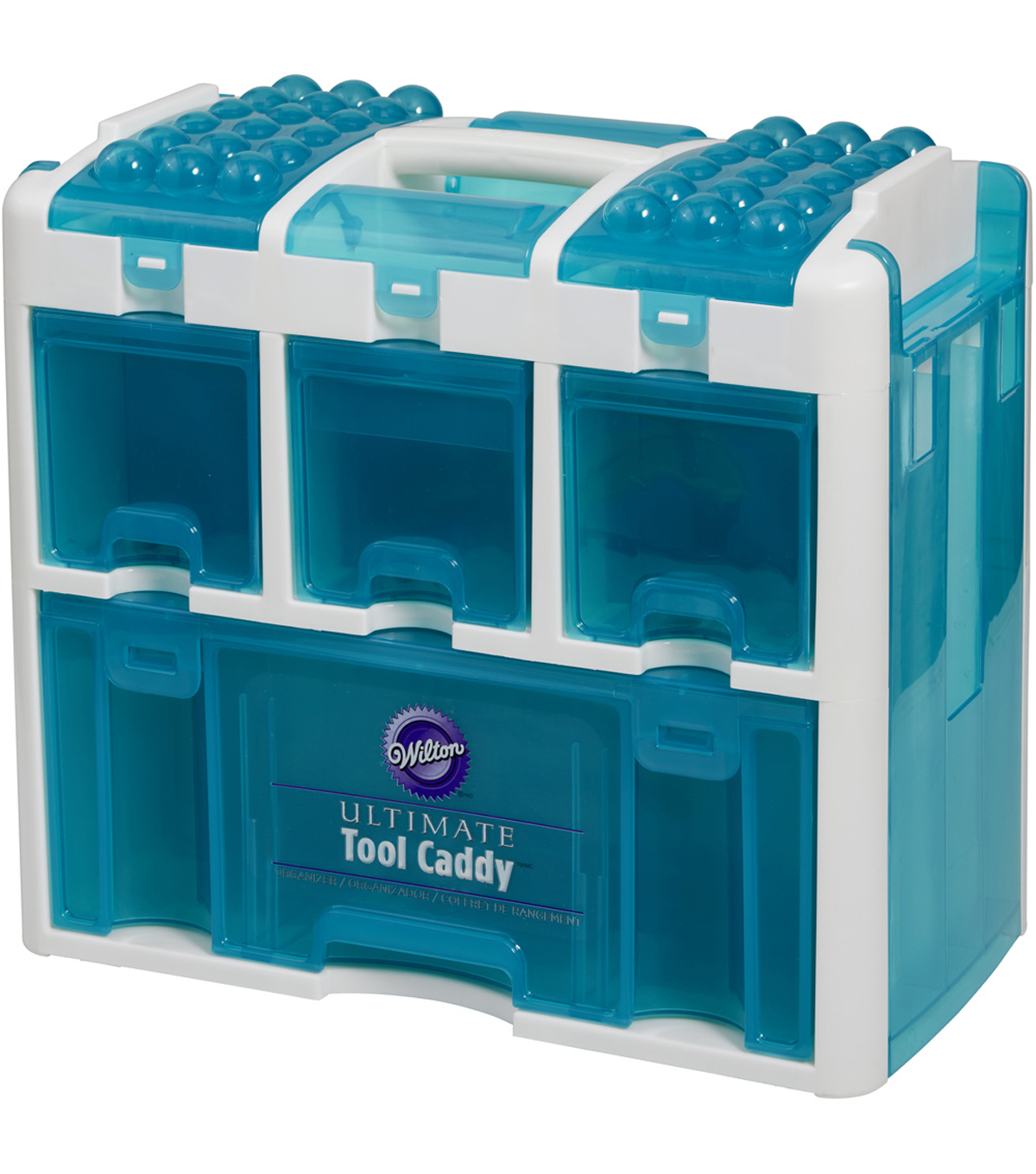Ultimate Tool Caddy 12.5\u0022X14.25\u0022X8\u0022 Aqua