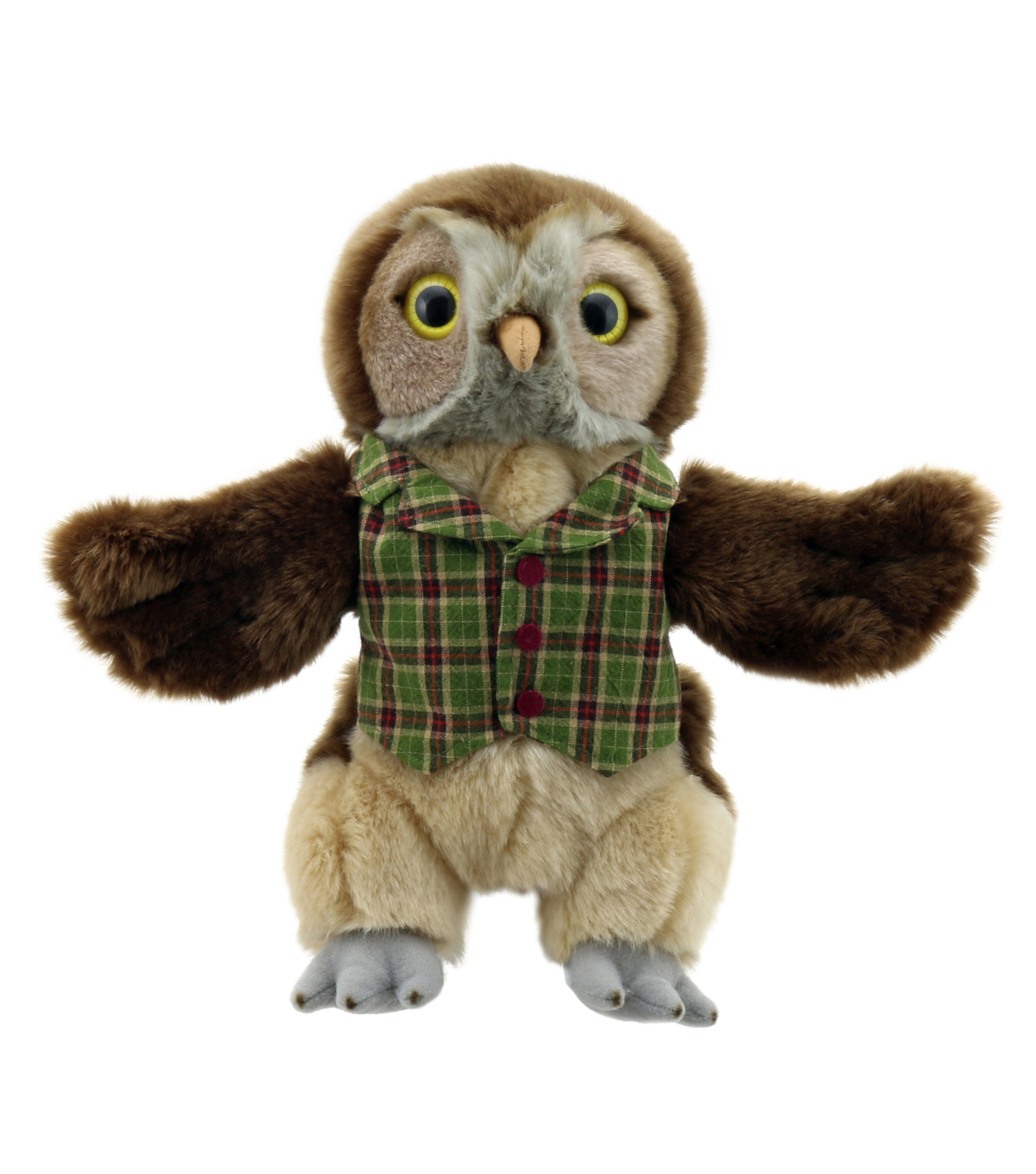 Dressed Animal Puppets, Owl